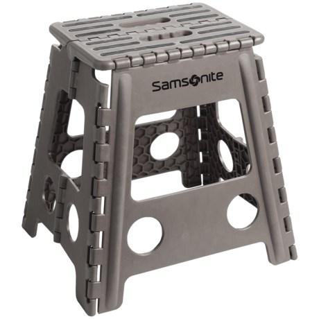 Samsonite Tall Folding Step Stool Save 56