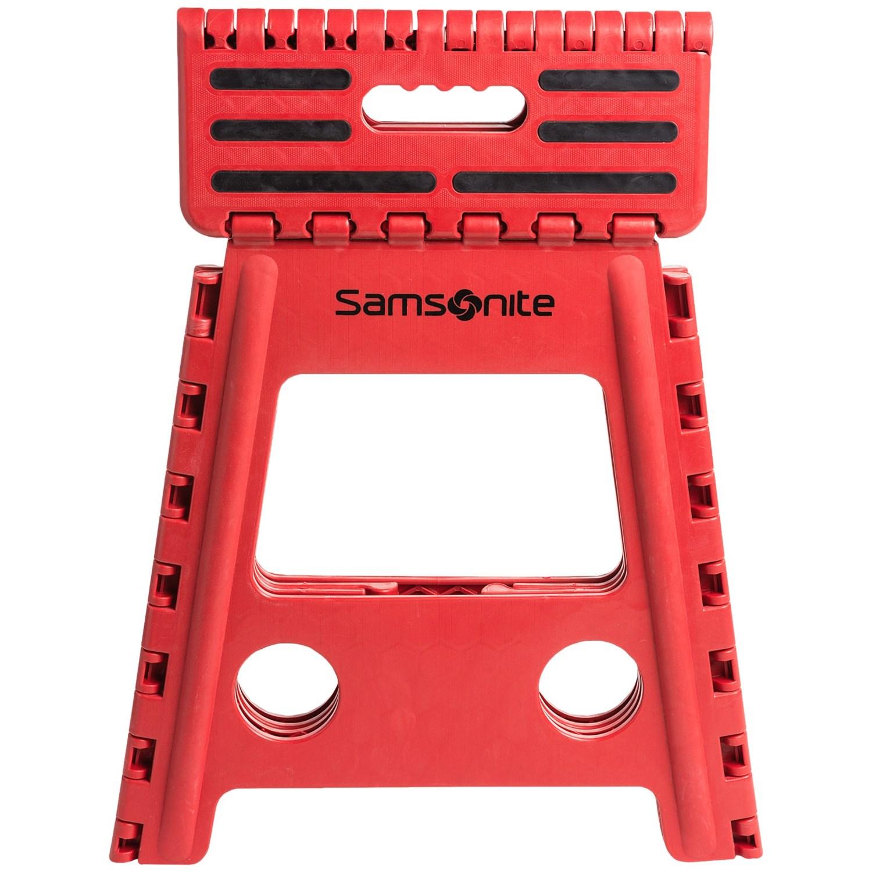 Samsonite Tall Folding Step Stool Save 31