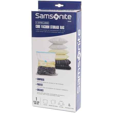 Samsonite Vacuum Storage Bag - Extra Large in See Photo - Closeouts