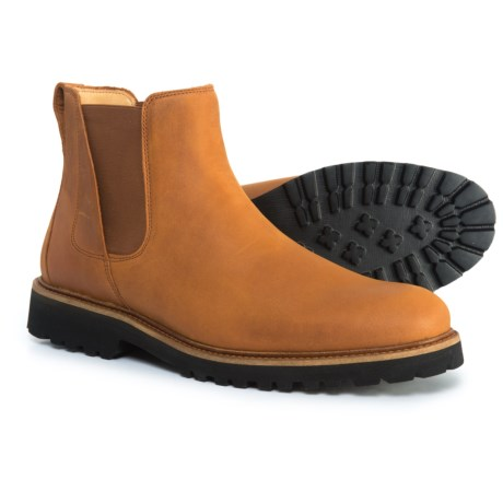 Samuel Hubbard Made in Portugal Crosstown Cowboy Chelsea Boots - Leather (For Men) in Brown