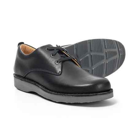 Samuel Hubbard Made in Portugal Hubbard Free Oxford Shoes - Leather (For Men) in Almost Black - Closeouts