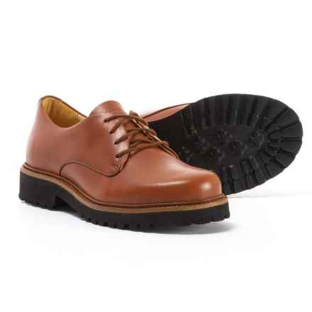 Samuel Hubbard Made in Portugal Hubbard Free Oxford Shoes - Leather (For Women) in Whiskey Leather - Closeouts