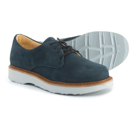 Samuel Hubbard Made in Portugal Hubbard Free Oxford Shoes - Nubuck (For Women) in Navy Nubuck