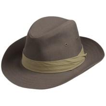San Diego Hat Co. Canvas Fedora Hat (For Men)