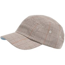 San Diego Hat Company Houndstooth Cap (For Men and Women) in Grey - Closeouts