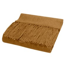 San York Alpaca Fleece Scarf in Camel - Overstock