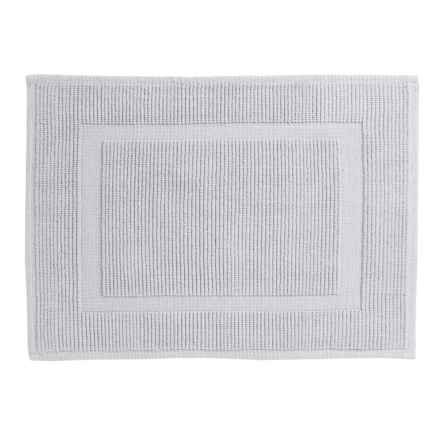"Sanctuary Collection Woven Cotton Bath Mat - 21x34"" in White - Closeouts"