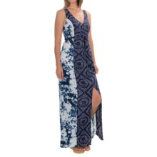 Sanctuary Mixed Print Maxi Dress - Sleeveless (For Women) in Navy/White - Overstock