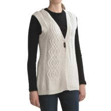 Sanctuary Vintage Patchwork Vest (For Women) in Natural - Closeouts