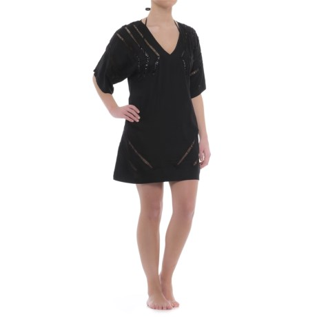 Sandiva Cover-Up - Elbow Sleeve (For Women) in Black