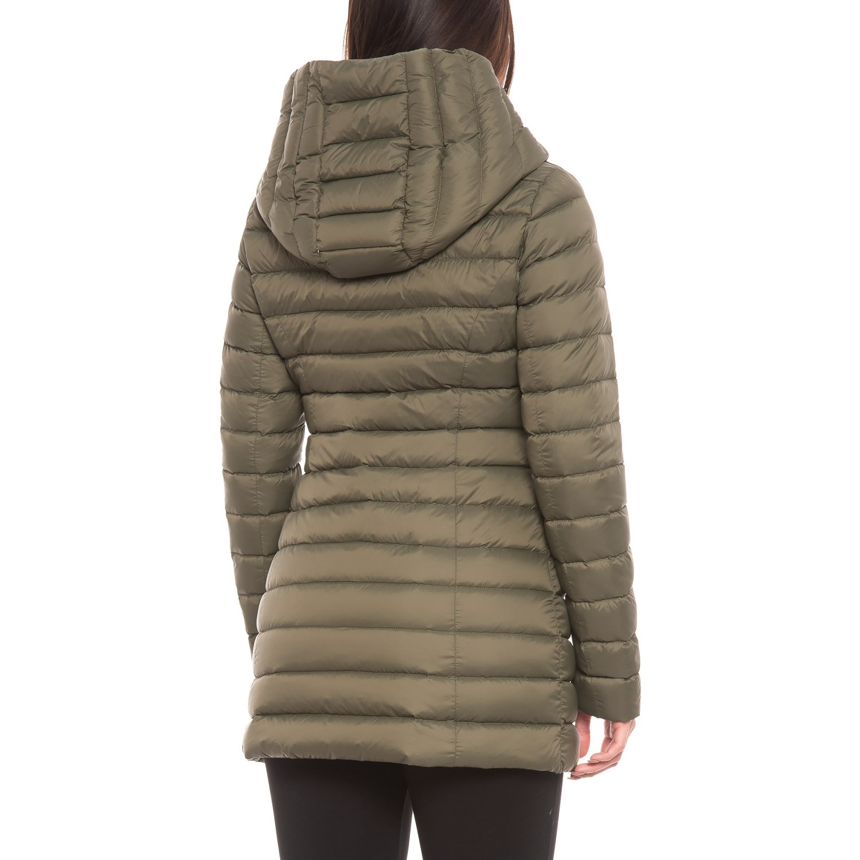 34528eef0ae Sandova Canadian Designer Edela Asymmetrical Down Jacket - 700+ Fill Power  (For Women)