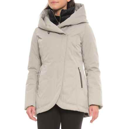 Sandova Canadian Designer Edela Down Jacket - 700+ Fill Power (For Women) in Ash - Closeouts