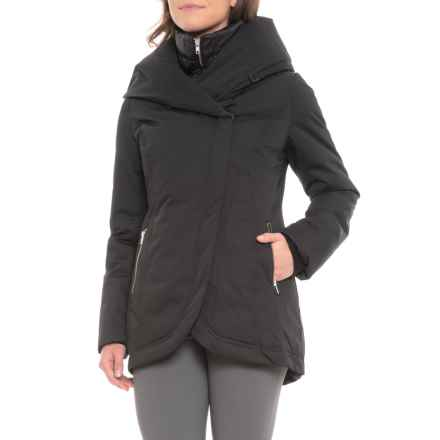 Sandova Canadian Designer Edela Down Jacket - Insulated (For Women) in Black - Closeouts