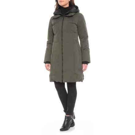 Sandova Canadian Designer Jutta Down Jacket - 700+ Fill Power (For Women) in Moss - Closeouts