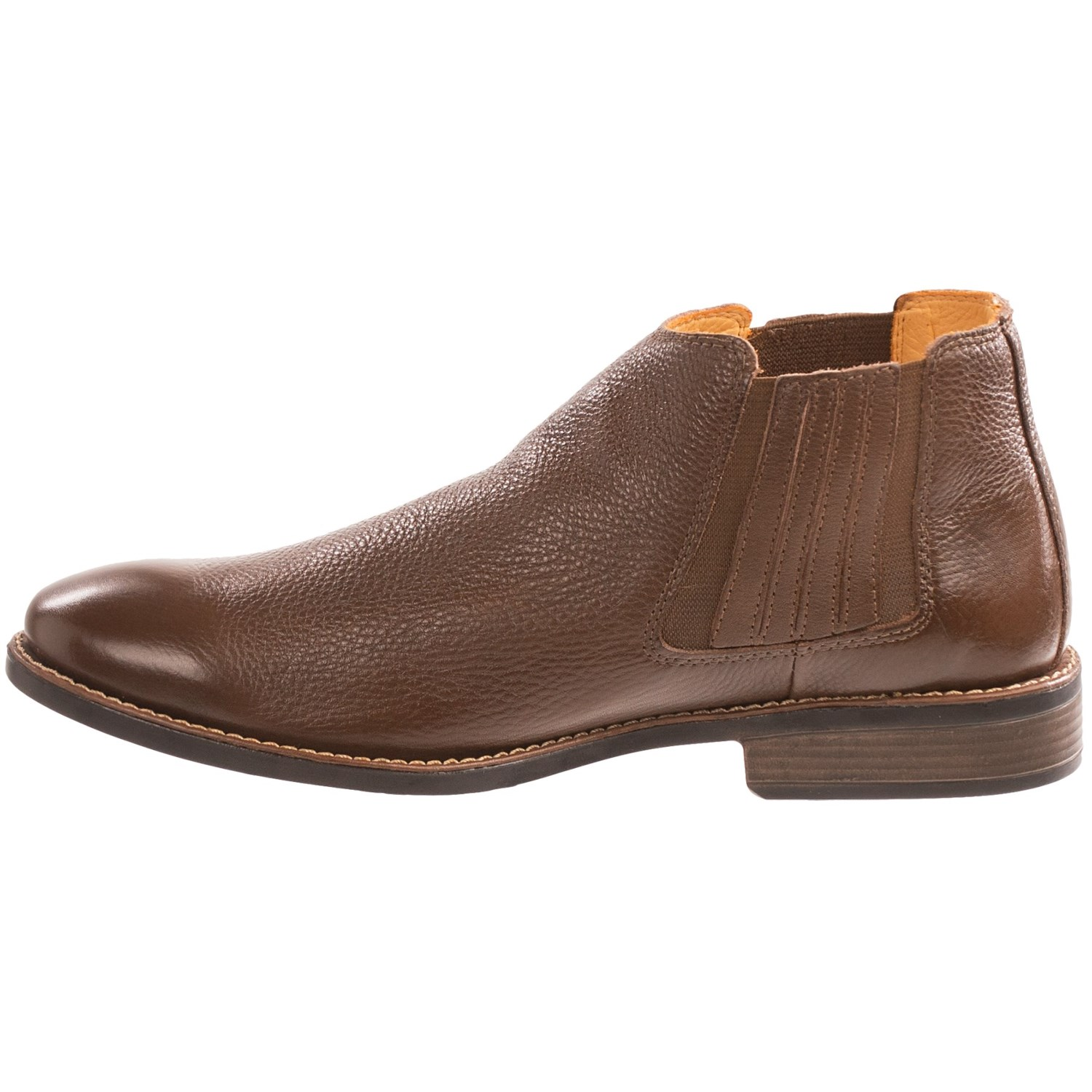 Leather Ankle Boots For Men - Boot Hto