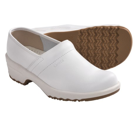 Sanita Classic Lisa Professional Clogs - Closed Back (For Women) in White