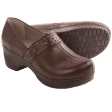 Sanita Dae Leather Clogs (For Women) in Brown - Closeouts