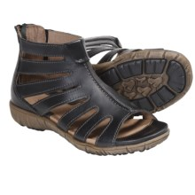 Sanita Dagny Gladiator Sandals - Leather (For Women) in Black - Closeouts