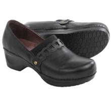 Sanita Daisy Dania Clogs - Leather (For Women) in Black - Closeouts