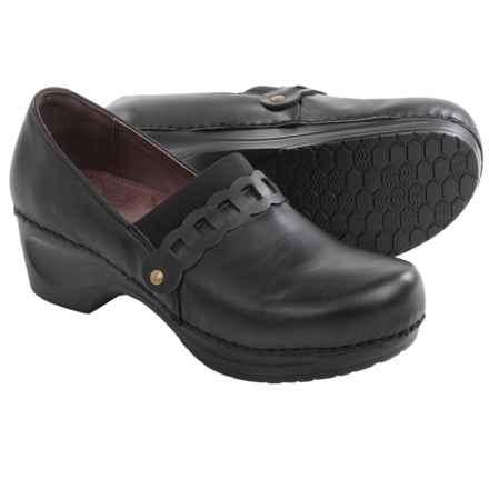 Sanita Daisy Dania Clogs - Leather (For Women) in Black - Closeouts