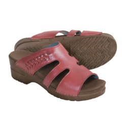 Sanita Donna Sandals - Leather (For Women) in Red