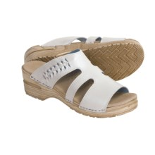 Sanita Donna Sandals - Leather (For Women) in White - Closeouts