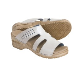Sanita Donna Sandals - Leather (For Women) in White