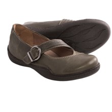 Sanita Jytta Shoes - Leather, Slip-Ons (For Women) in Olive - Closeouts