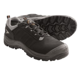 Sanita Lace-Up Work Shoes (For Men and Women) in Black