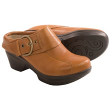 Sanita Nikita Clogs - Leather (For Women) in Camel - Closeouts