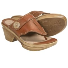 Sanita Nikka Sandals - Leather (For Women) in Orange - Closeouts