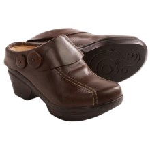 Sanita Nikolette Clogs - Leather (For Women) in Dark Brown - Closeouts