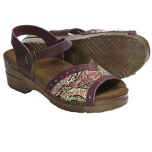 Sanita Original Beatrice Sandals - Leather, Sling-Back (For Women) in Vintage Violet - Closeouts