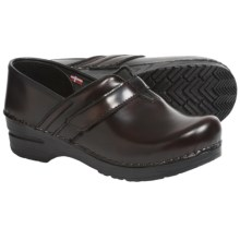 Sanita Original Fresno Clogs - Leather (For Women) in Brown - Closeouts