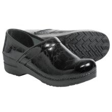 Sanita Original Professional Venus Clogs - Patent Leather (For Women) in Black - Closeouts