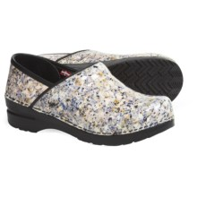 Sanita Original Tara Clogs - Patent Leather (For Women) in Multicolor - Closeouts