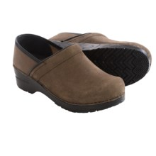 Sanita Original Tibet Oil Clogs - Suede (For Women) in Brown - Closeouts