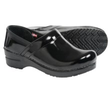 Sanita Professional Anna Clogs - Patent Leather (For Women) in Black - Closeouts