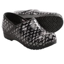 Sanita Professional Dory Clogs - Leather (For Women) in Black - Closeouts