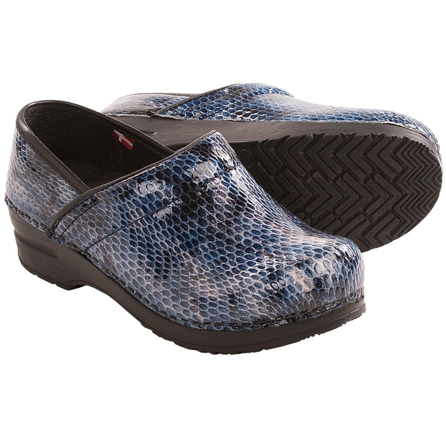 Sanita Professional Sonora Clogs - Closed Back (For Women) in Navy - Closeouts