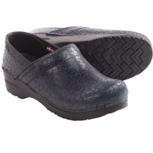 Sanita Signature Sonny Professional Clogs - Closed Back (For Women) in Blue - Closeouts