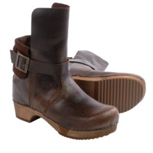 Sanita Wood Lexi Boots - Leather (For Women) in Antique Brown - Closeouts