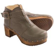 Sanita Wood Owl Ankle Boots (For Women) in Olive - Closeouts