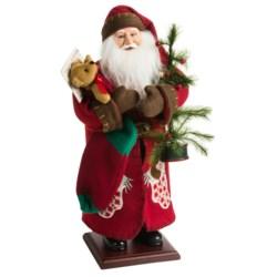 "Santa's Workshop 20"" Collectible Santa in Hanging Stocking Santa"