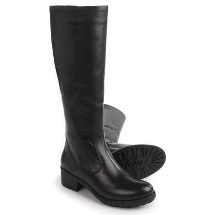Santana Canada Andrea Boots - Waterproof, Leather (For Women) in Black Smooth Leather - Closeouts