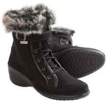 Santana Canada Emilia Boots - Waterproof, Suede (For Women) in Black - Closeouts