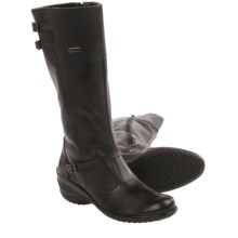 Santana Canada Evalista Leather Boots - Waterproof (For Women) in Black - Closeouts