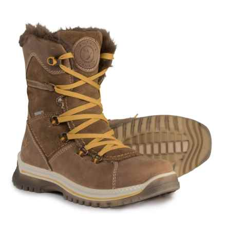 Santana Canada Majesta Winter Boots - Waterproof, Insulated, Leather (For Women) in Brown