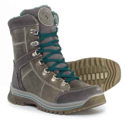 Santana Canada Marlie Mid Winter Boots - Waterproof, Insulated, Leather (For Women) in Grey - Closeouts