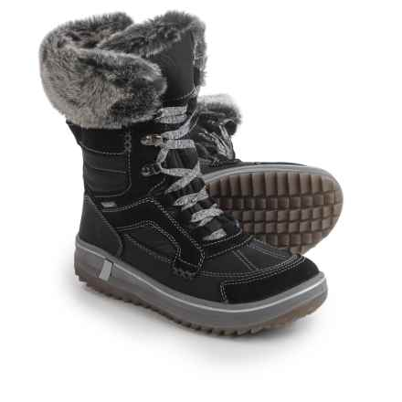 Santana Canada Marta Snow Boots - Waterproof (For Women) in Black - Closeouts